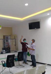 Kontraktor pasang plafon partisi gypsum surabaya