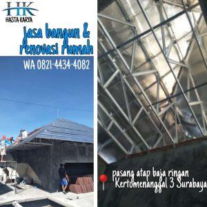 Kontraktor Pemborong Atap Baja Ringan Surabaya